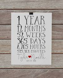 1st year anniversary gift ideas best 25 year anniversary gifts ideas on