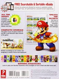 super smash bros wiiu 3ds prima official game guide nick von