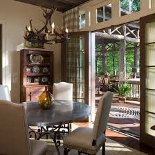 french doors dining room antler chandelier mode other metro traditional dining room