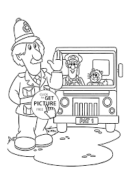 pat in truck coloring pages for kids printable free