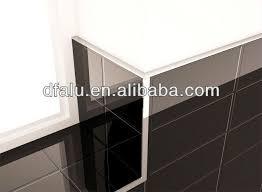 l shape gold tile edge trim aluminum edge tile trim
