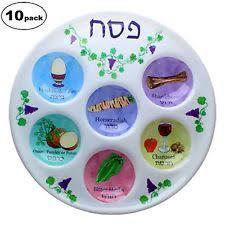sadar plate passover seder plate for kids 10 high quality plastic 10