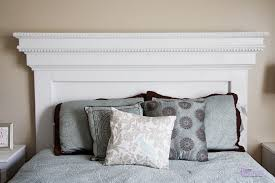 decorating above bed without headboard cool diy headboard idea