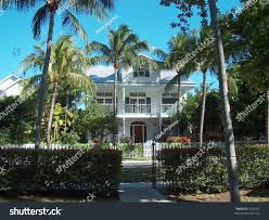 the beach house florida florida house on beach palm trees stock photo 1018197 shutterstock