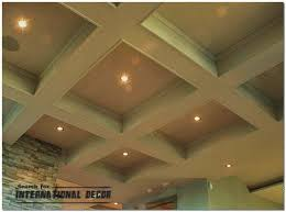Coffered Ceiling Lighting by Coffered Ceiling Features And Advantages In The Interior
