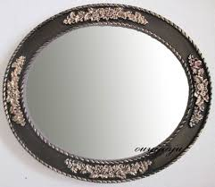 Antique Looking Bathroom Vanity by Bathroom Cabinets Set 2 Ornate French Venetian Oval Wall Mirror