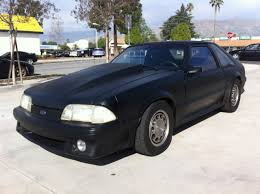 ford mustang gt 1992 1992 ford mustang gt hatchback fast rust free ca car no