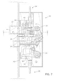 patent us6209931 multi point door locking system google patents