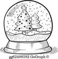 vector art global baseball sketch clipart drawing gg62487340