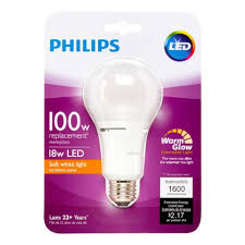 philips led night light bulb philips led dimmable light bulb a21 soft white with warm glow 100