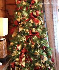country christmas tree country christmas decorating ideas decorates and gold