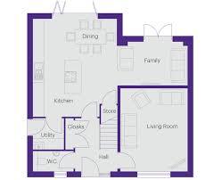 hart house floor plan plot 4 the birch hart village hartlepool