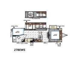 Forest River Travel Trailers Floor Plans 2018 Forest River Flagstaff Super Lite Travel Trailers 27bews