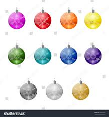 vector isolated tree balls set stock vector 230375290
