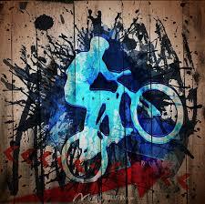 graffiti biker on fence wallpaper by magicmurals com graffiti biker on fence