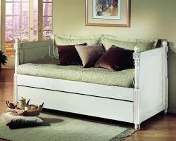 White Daybed With Pop Up Trundle Day Bed With Pop Up Trundle By Alligator Enterprise