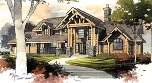 western style house plans rivermyst timber frame house plans log home design plans