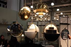 Multiple Lamp Shade Chandelier by Modern Lighting Fixtures At Icff Combine Latest Technology And