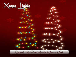 christmas tree shaped lights second life marketplace wam christmas tree shaped lights full