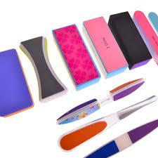 assorted nail buffer files blocks set 15pcs trendy styles
