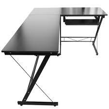 Schreibtisch L Form L Form Büro Computertisch Schreibtisch Schwarz Arbeitstisch