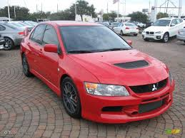 mitsubishi evo red 2006 rally red mitsubishi lancer evolution ix mr 24589139 photo