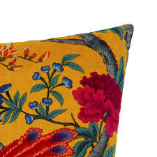 Navy Velvet Cushion Buy Liberty London Elysian Paradise Velvet Cushion 60x60cm