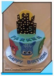 pj masks cake cousin u0027s creations birthday cakes guys