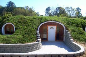you can now buy pre fabricated hobbit homes to live in from green