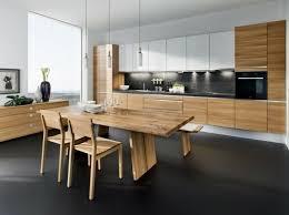 cuisine table 73 idées de cuisine moderne avec îlot bar ou table à manger