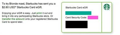 free e gift cards free starbucks gift card get 2 60 to try starbucks roast