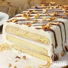tiramisu ice cream cake with video