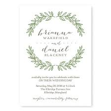bridal invitation nature wedding invitations the american wedding