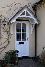 Small Awning Over Back Door Arbor Idea For Back Door Contemporary Landscape By Diane Licht
