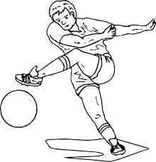 football coloring page virtren com