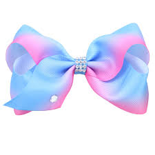 big hair bows 1pc 5 big grosgrain rainbow hair bows with hair boutique