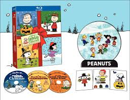charley brown thanksgiving peanuts deluxe holiday collection blu ray it u0027s the great pumpkin