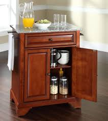 kitchen island with granite top buy cambridge solid granite top portable kitchen island w bun feet