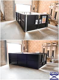 armo goods lift table installed at co op leicestershire armo uk