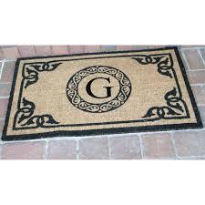 front doors cool custom front door mat for home inspirations