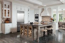 Cherry Vs Maple Kitchen Cabinets by Madison Maple Cottage White Island Is Cherry Peppercorn Ebony