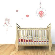 stickers chambre bébé mixte sticker mural oiseaux perchoirs motif bacbac fille pour stickers