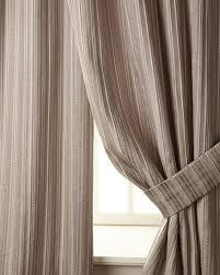 Classics Curtains Horn Classics Two 108 L Prestige Stripe Curtains Neiman
