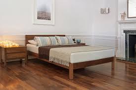 Contemporary Bed Frames Uk Sahara Contemporary Wooden Bed Natural Bed Company