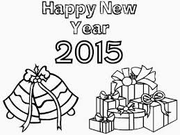 colour drawing free wallpaper happy new year 2015 coloring
