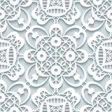 cutout paper ornament lace texture seamless lace pattern in