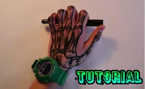 non permanent tattoo tutorial tattoo stift tutorial skelett