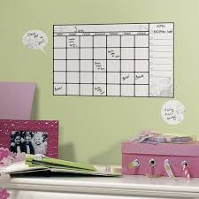 How To Get Permanent Marker Off Walls by Amazon Com Roommates Rmk1556scs Dry Erase Calendar Peel U0026 Stick