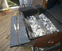 replacement charcoal tray or pan for a charcoal grill 6 steps