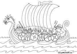 vikings coloring pages www bloomscenter